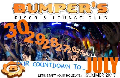 Bumpers disco Lloret de Mar for your summer's holidays